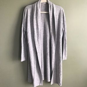 Silence and Noise open front drape cardigan